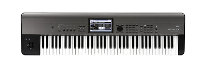 KORG Krome-73 EX Music Workstation Keyboard - 73 Key + FREE KO-SCKROM73 BAG!
