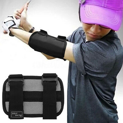 CO_ Golf Swing Trainer Elbow Brace Corrector Alignment Training Aid Tools NEW
