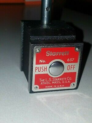 Starrett Magnetic Base No.657 W Attachments