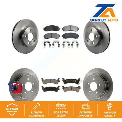 FRONT BRAKE ROTORS And Ceramic Pads For Ford Explorer Sport