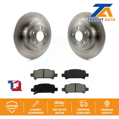 Front Rear Disc Rotors /& Semi-Metallic Brake Pads For Nissan Quest