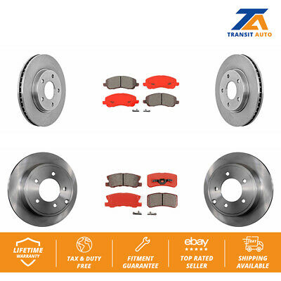 Drilled Slotted Rotors Ceramic Brake Pad Fits 91-1995 Acura Legend 2 Front 4