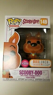 Funko Pop! Animation Scooby-Doo Flocked Scooby-Doo Bl Exclusive #149