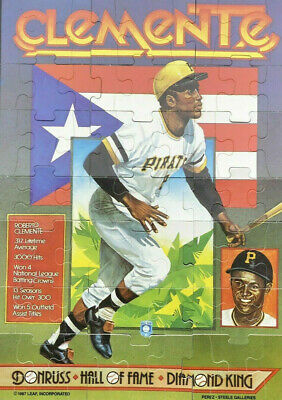 1987 Donruss Roberto Clemente Puzzle Baseball Cards Complete Your Puzzle U Pick
