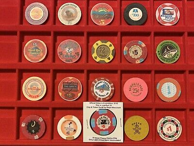 Lot Of 20 Casino Chips, Silver Palace Uncirculated, Flamingo, Viejas Valley, Ect
