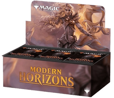 MTG Magic Modern Horizons Booster Box x6  -SEALED CASE!!  6 SEALED BOOSTER BOXES