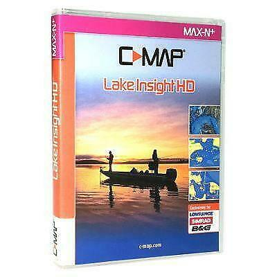 Lowrance C-Map Lake Insight HD SD Card, South East - 000-13729-001