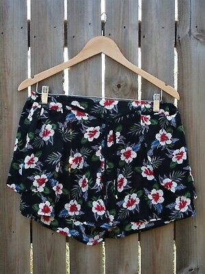 French Connection Floral Shorts Size 12