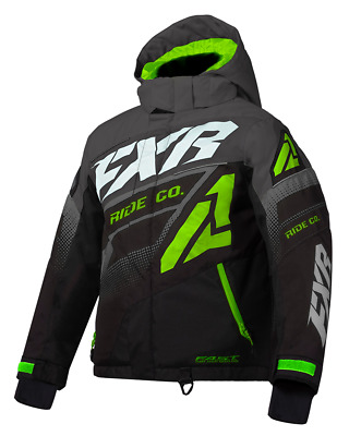 2020 FXR CHILD YOUTH BOOST JACKET - SNOWMOBILE- FLOAT ASSIST - Size 10  - NEW
