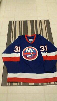 sale retailer dd72a ee5b5 AUTHENTIC CCM NEW York Islanders Jersey- Billy Smith