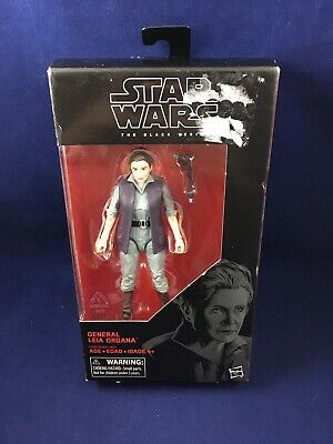 Star Wars The Black Series General Leia Organa 6 Inch Action Figure NEW