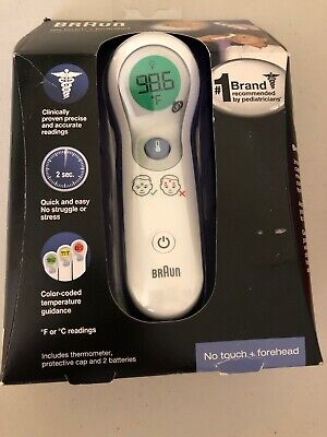Braun Ntf300us Braun No Touch Forehead Thermometer Brand New