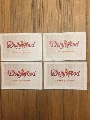 TWO DOLLYWOOD SPLASH Coutry Tickets Valid Until 09/02/2019 - $50 00