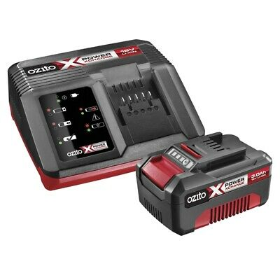 Ozito Power X Change 18V 3.0Ah Battery And Charger Pack  -  PXBC-003