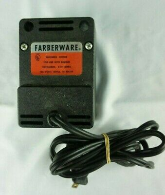Farberware Electric Broiler Rotisserie MOTOR PART Model # 435 FOR 400 Series
