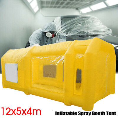 39X16x13ft Gonflable Voiture Spray Peinture Booth Portable Auto Job Tente