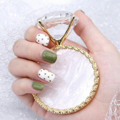 Diamond False Nail Art Plate Tips Display Stand Nail Polish Gel Manicure Set