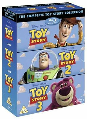 The Complete Toy Story Movie Collection Bundle Blu-Ray Films Set Kids Children