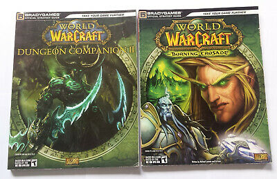 2 World of Warcraft Strategy Guides Dungeon Companion & Burning Crusade