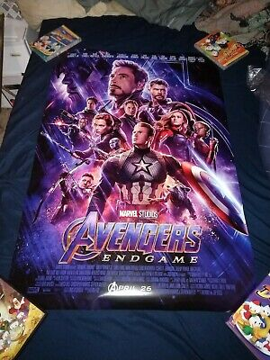 Avengers: Endgame Theatrical Poster DS 27x40 original authentic.