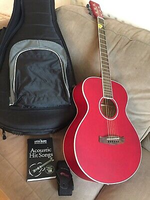 Tanglewood DBTFR Discovery Folk Acoustic Guitar, Case & Accessories