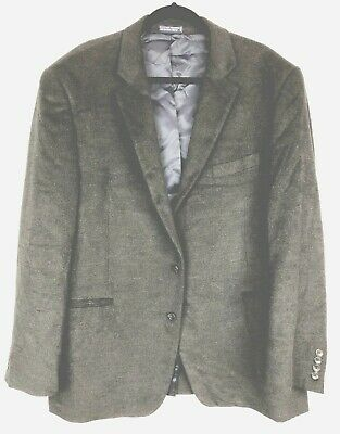 NAUTICA Men's Blazer Suit Sport Coat Jacket Two Button Dark Gray Size  46R