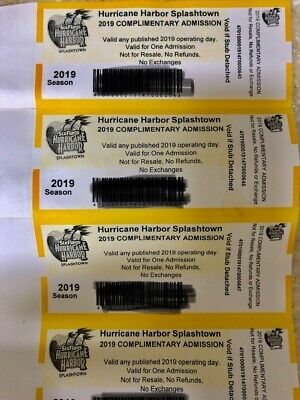 Hurricane Harbor Houston Splashtown One Day Adult Ticket