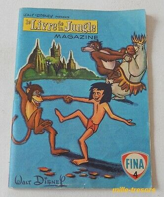 Le LIVRE de la JUNGLE Magazine N°4 - WALT DISNEY Productions 1968 - FINA - BD