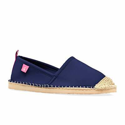 Joules Ocean Flipadrille Womens Footwear Espadrilles - French Navy All Sizes