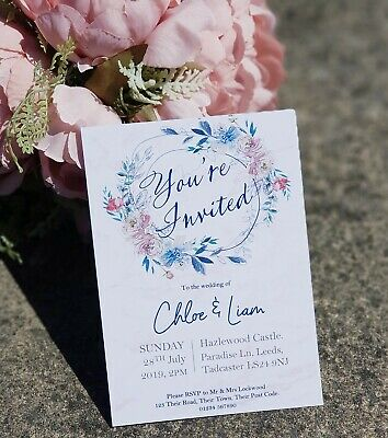 Personalised Wedding Invitations  Wedding Invites Inc. Envelopes. Classy designs