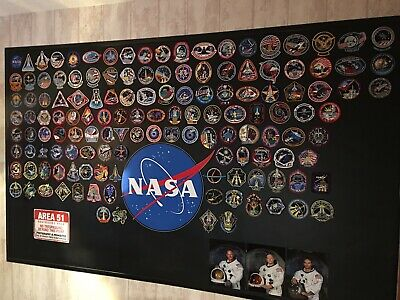137 Patch Complet Missions Shuttle Nasa + Logo NASA