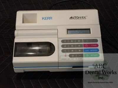 Kerr Automix Model 23425 Amalgamator Computerized Dental Amalgam Mixing System