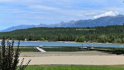 Wasa Lake Water Front with Rocky Mountain Views