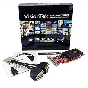 VisionTek Radeon HD 7750 Graphic Card - 1 GB DDR3 SDRAM - Low-profile
