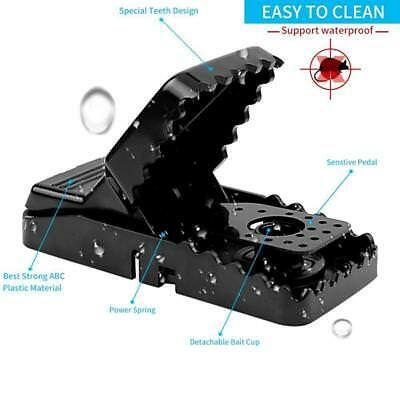 2X Rat Traps Catching Mouse E Trap-Easy Set/Bait/Pest Catcher ON SALE
