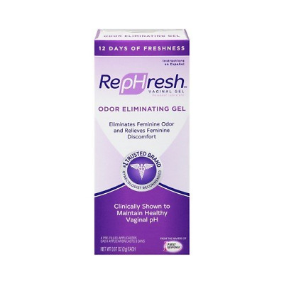 3 Pack RepHresh Vaginal Gel, 0.07 oz., 4 Prefilled Applicators