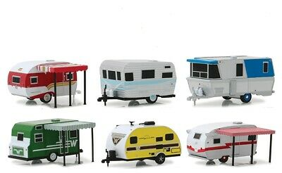 Greenlight Collectibles 34060-Case 1:64 Hitched Homes Series 6 (Pack of 6)