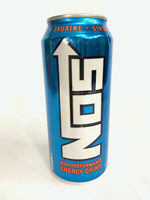 Energy Drink Can Collection - NOS Throttle in a Bottle! Collectible Can 16 oz