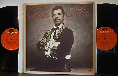 CHICK COREA My Spanish Heart EX 1976 POLYDOR 2LP Don Alias-Jean Luc Ponty FUSION