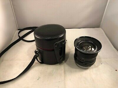 Spirtatone YS 18mm 1:3.5 Auto Wide Angle Lens w/Leather Case, Pre-Owned
