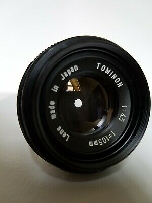 Tominon 1:4.5 F=105mm enlaging lens. Excellent!