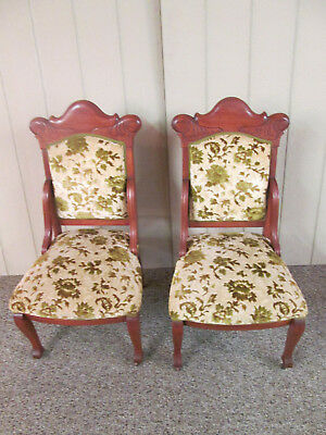 58365    Pair of Quality Antique Empire Side Chair s