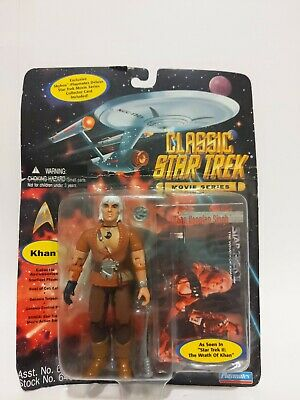 KHAN Star Trek Classic Movie Series Action Figure Playmates Wrath of Khan