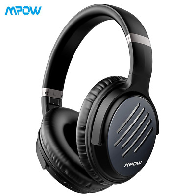 Mpow H16 [2019 Upgrade] Noise Cancelling Headphones Wireless Over Ear Headset