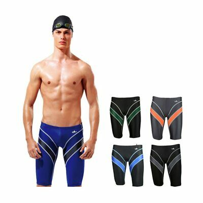 YINGFA 9402 Mens Swim Shorts Competition Swimsuit FINA Approval Training Trunks