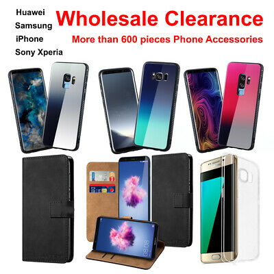 650pcs Phone Wallet Case Cover Bumper Sony Xperia Samsung iPhone Huawei UK