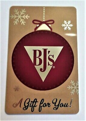 BJ's Restaurant Brewhouse $50 Gift Card Physical Card Discounted No Expiration