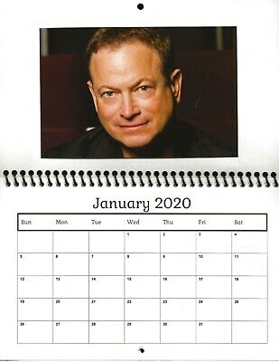 Csi Calendar 2020 GARY SINISE Csi Ny Criminal Minds: Beyond Borders 2019 Photo