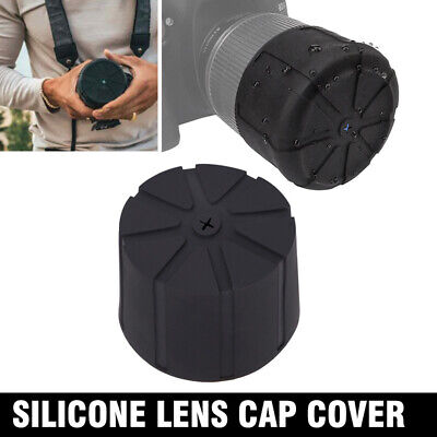 Universal Silicone Lens Cap Cover for DSLR Camera Waterproof Anti-Dust EP