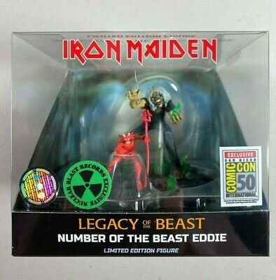 IRON MAIDEN Legacy Of The Beast Figure SDCC 2019 Comic Con EXCLUSIVE NIB